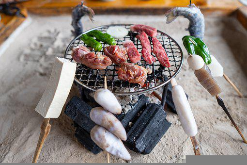 Meat, Cheese, Vegetables, Hearth, Food, Meal