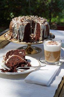 Cakes, Coffee, Chocolate Cake, Sponge Cake, Desserts