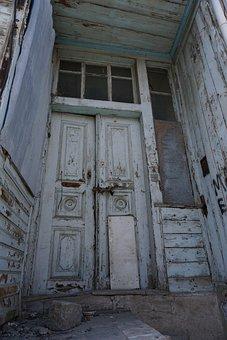 Door, Destruction, House, Abandoned, Old