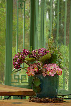 Flowers, Vase, Decoration, Plant, Display, Bloom