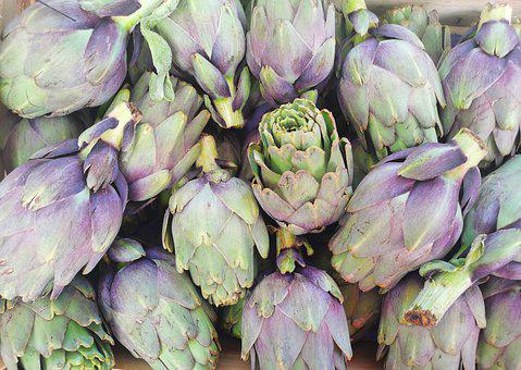 Artichokes, Vegetables, Food, Healthy, Plant, Vitamins