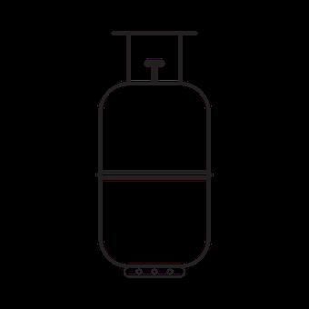 Gas Cylinder, Fuel, Flammable, Gas, Lpg, Lpg Cylinder
