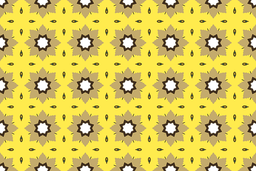 Flowers, Pattern, Wall, Retro, Colorful, Vintage