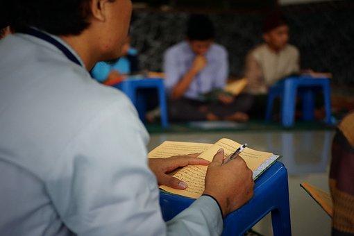 Book, Man, Learning, Reading, Writing, Religion, Islam