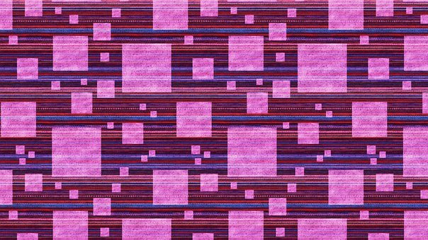 Squares, Purple, Stripes, Texture, Pattern