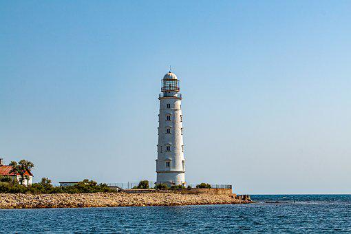 Lighthouse, Tower, Building, Architecture, Coast