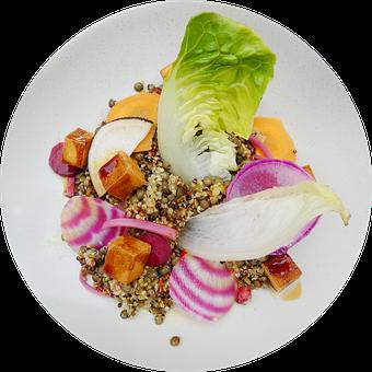 Food, Culinary, Dish, Quinoa, Vegetables, Vegetarian