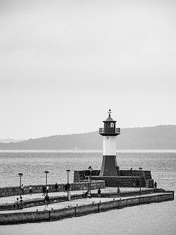 Baltic Sea, Sea, Lighthouse, Coast, Ocean