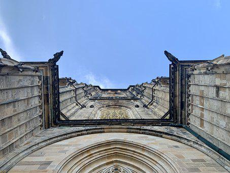 Cathedral, Temple, Building, St Vitus Cathedral, Praha