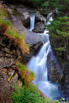 Waterfall, River, Nature, Cascades, Stream, Water