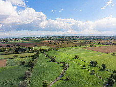 Plain, Field, Agriculture, Countryside, Cultivation