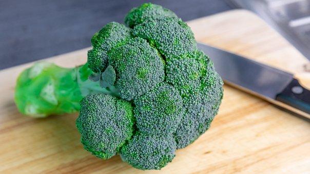 Broccoli, Vegetable, Food, Healthy, Fresh, Diet