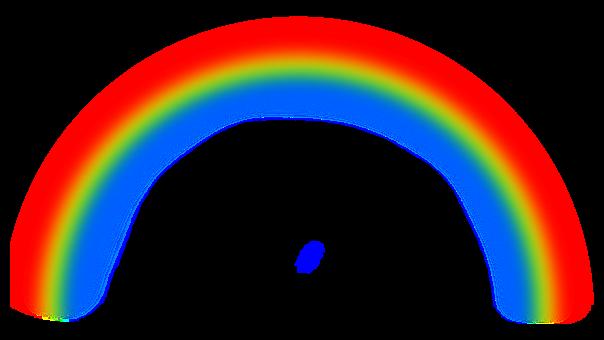 Rainbow, Cutout, Meteorological, Art, Spectrum, Photos