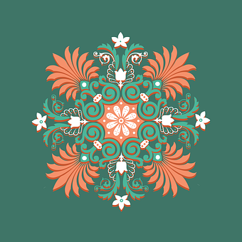 Ornament, Ornate, Floral, Pattern, Design, Decoration