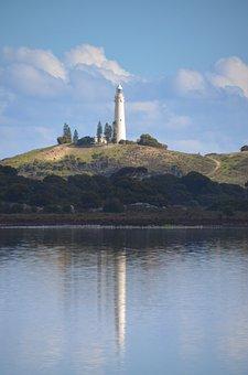 Lighthouse, Tower, Beacon, Outdoors, Rottnest Island