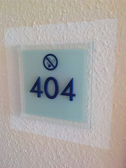 Hotel, Hotel Rooms, Room Number, 404, Non Smoking