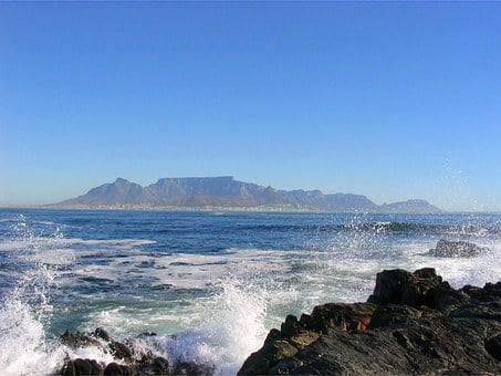 Cape, Town, Table, Mountain, South Africa, Africa