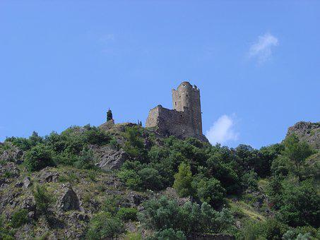 Cathar Country, Castle, South, France, Cathar Castle