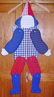 Jumping Jack, Children Toys, Homemade