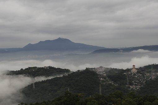 The Scenery, Mountain, Fog, Taipei
