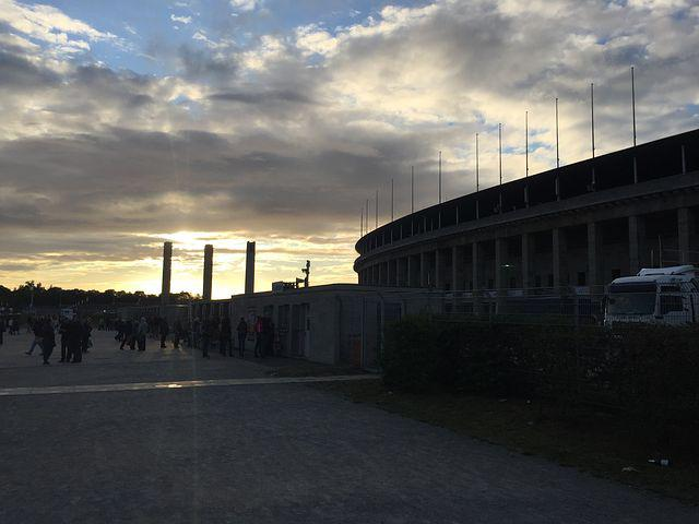 Berlin, Olympiastadion, Architecture, Germany, Sport