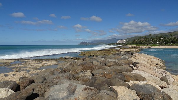 Summer, Vacation, Hawaii, Beach, Travel, Coast, Ocean
