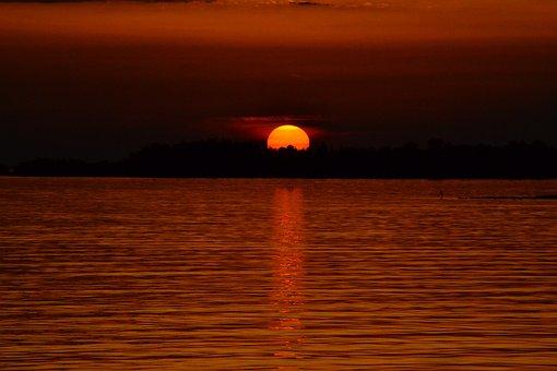 Sail, Sunset, Yacht, Holiday, Croatia