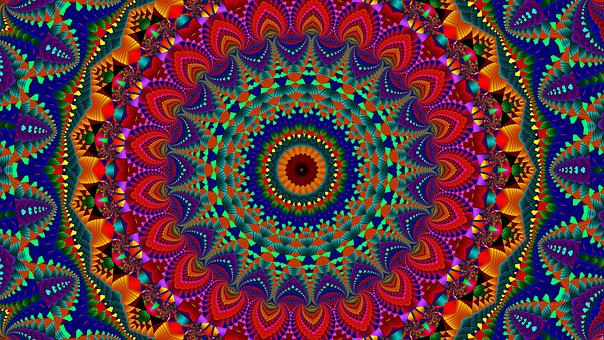 Kaleidoscope, Mandala, Pattern, Kaleydograf, Mosaic