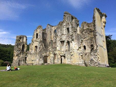 Old Wardour Castle, Castle, Ruin, Old, Historically