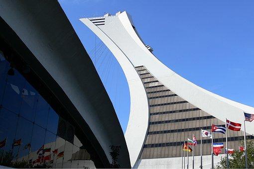 Canada, Montréal, Biodome, Olympic Stadium