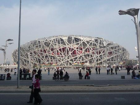 Stadium, Bird's Nest, Beijing, Olympics, Landmark