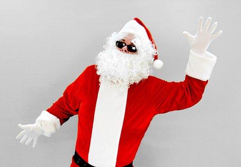 Santa, Dancing, Dance, Santa Claus, Nicholas, Christmas
