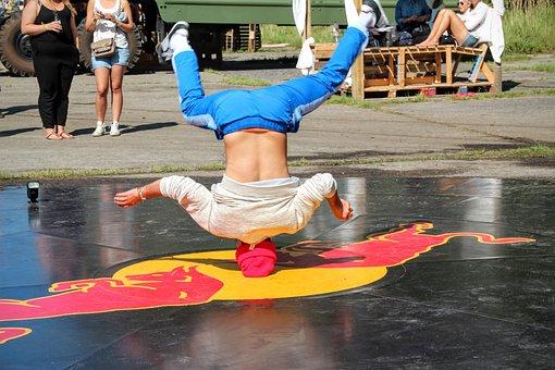 Break Dancing, Standing On Your Head, Acrobatics