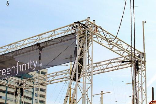 Stage Construction, Steel Structure, Cable Glands