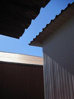Rooftops, Underside, Rectangular Dimensions, Corrugated