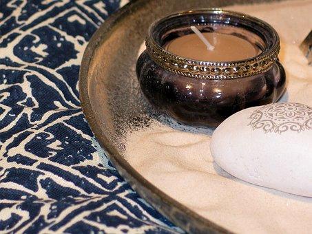 Oriental, Windlight, Candle, Color, Decoration