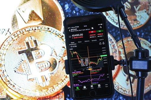Bitcoin, Crypto, Stock, Chart, Trading, Investing