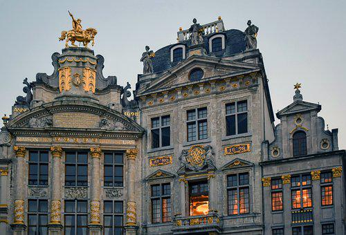 Grand Place, Brussels, Guild Houses, Buildings, Facades