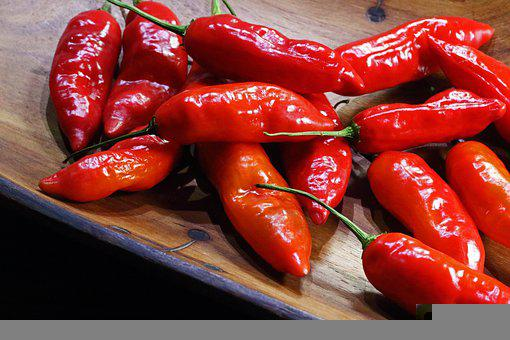 Chili Peppers, Ingredients, Spicy, Hot, Harvest