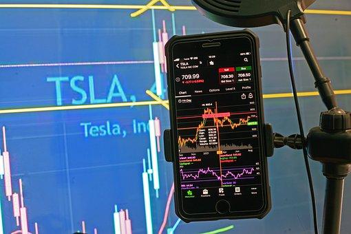 Tesla, Stock, Chart, Trading, Investing, Analysis