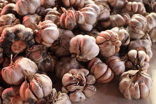 Garlic, Harvest, Ingredients, Flavor, Seasoning, Many