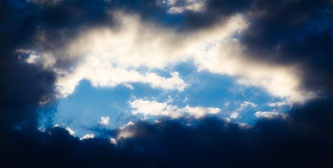 Sky, Clouds, Heaven, Blue Sky, Dark Clouds, Cloudy