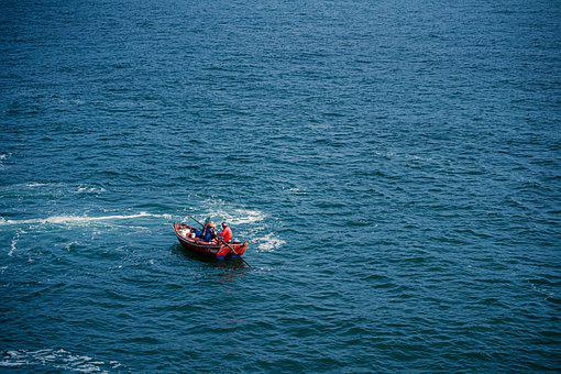 Boat, Fishing, Sea, Ocean, Nature, People, Summer