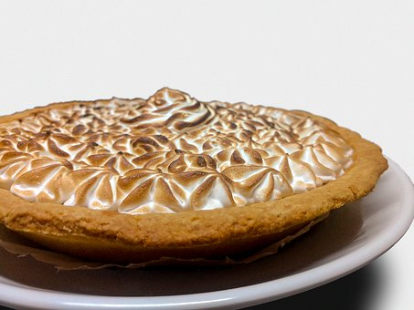 Pie, Dessert, Pastry, Sweet, Snack, Treat, Lemon Pie