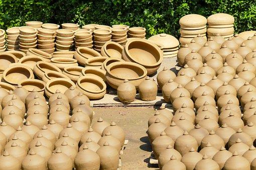 Ceramic, Clay, Baked, Think, Pot, Jar