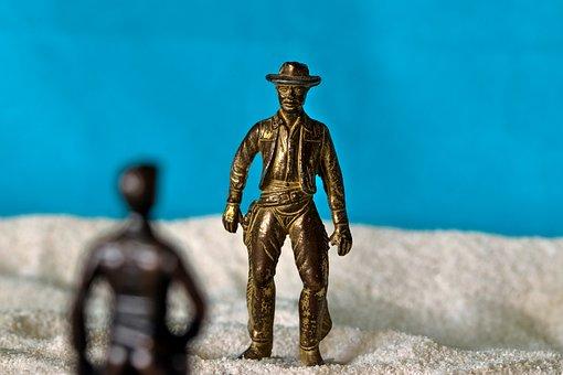 Cowboys, Wild West, Duel, Sheriff, Bandit, Gunslinger