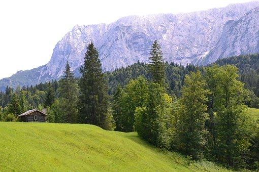 Mountains, Allgau, Nature, Bavaria, Landscape, Germany