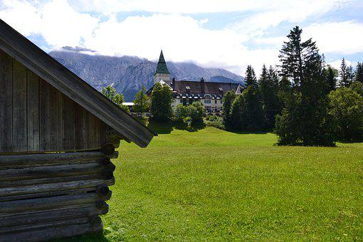Schloss Elmau, Germany, Countryside, Hotel, Bavaria
