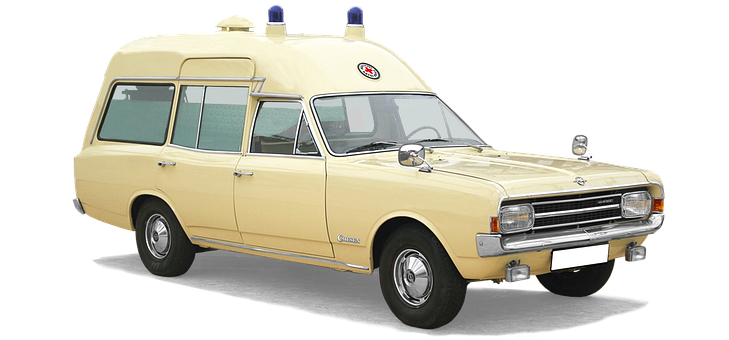Opel Record C, Patient Transport, Ktw, Drc, Isolated
