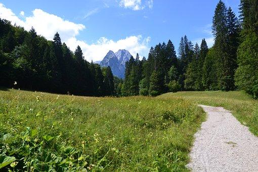Countryside, Mountains, Alps, Landscape, Allgau, Nature